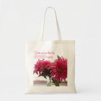 Margaritas rosadas del tote/del bolso con
