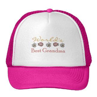 Margaritas y abuela del mundo de los rosas la mejo gorras