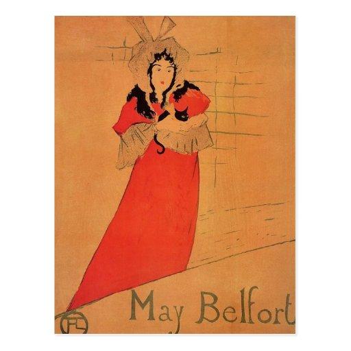 Maria Belfort Tarjeta Postal