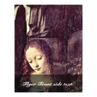 Maria con el niño St. John de Cristo el Bautista c Folleto 21,6 X 28 Cm
