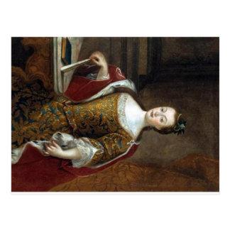 Maria I de la postal de Portugal