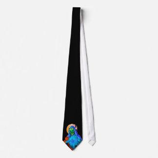 Maria muerta corbata