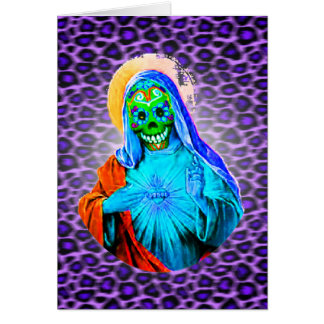Maria muerta felicitación