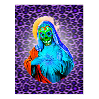 Maria muerta postal