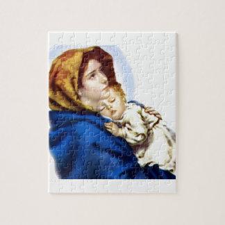 Maria y Jesús Puzzle