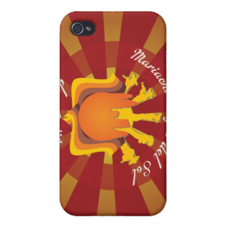 Mariachi Rayos de Austin Tx iPhone 4/4S Carcasa