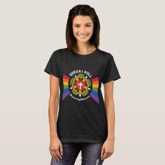 """Maricón ruedo"" la camiseta (en tela oscura)"