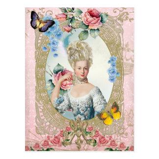 Marie Antoinette  Portrait Postcard Versailles Postal