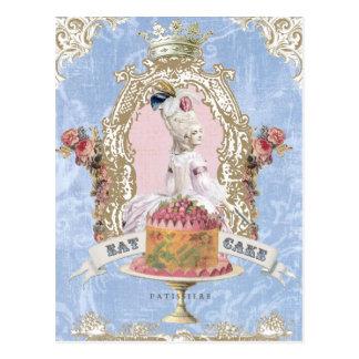Marie Antonieta-Come la postal de la torta…