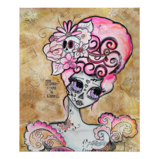 Marie Antonieta, Dia de los Muertos Impresiones Fotográficas