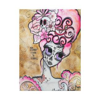 Marie Antonieta, Dia de los Muertos Lona Estirada Galerias