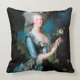 Marie Antonieta en la almohada del amortiguador