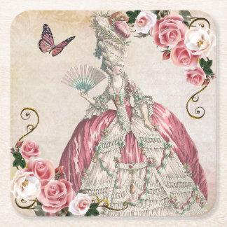 marie-rose-coaster1 posavasos de papel cuadrado