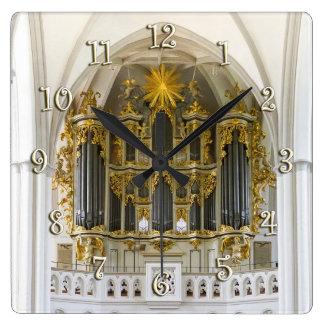 Marienkirche, reloj de muro de Berlín
