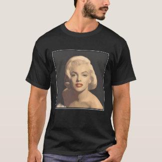 Marilyn gris gráfica camiseta
