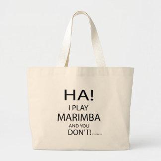 Marimba de la ha bolsa tela grande