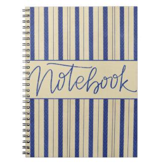 Marina de guerra/diseño poner crema del cuaderno