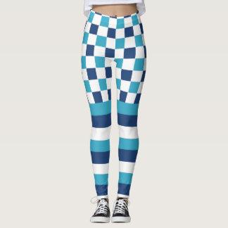 Marina de guerra en azul leggings