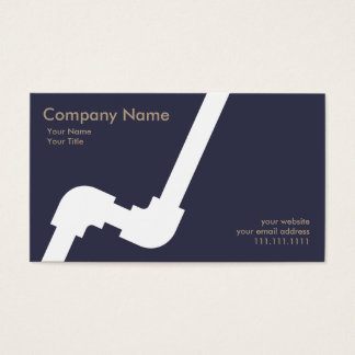 Marina de guerra simple de Businesscard del Tarjeta De Negocios