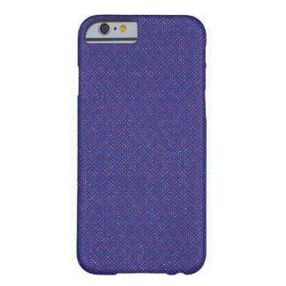 Marina de guerra y manchado rojo funda barely there iPhone 6