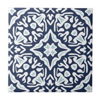 Marina de guerra y modelo mediterráneo blanco azulejo de cerámica