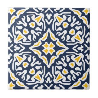 Marina de guerra y modelo mediterráneo del azulejo de cerámica
