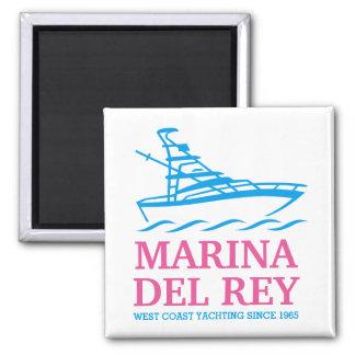 Marina Del Ray Imán Cuadrado