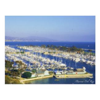 Marina Del Ray Postcards Postal