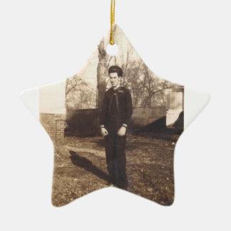 Marinero americano ornaments para arbol de navidad