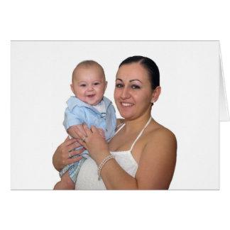 Mario W Mommy Pascua 2009 Tarjeta
