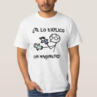 ¿Marionetas de la estafa del explico del lo de Te Camisetas