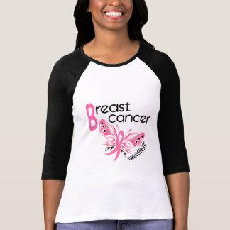 MARIPOSA 3,1 del cáncer de pecho Camiseta