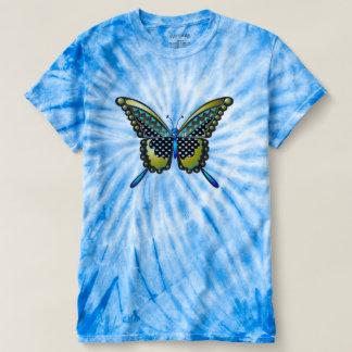 mariposa 83 de la turquesa camiseta