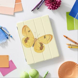 Mariposa amarilla - cubierta del iPad de la bella Cover De iPad