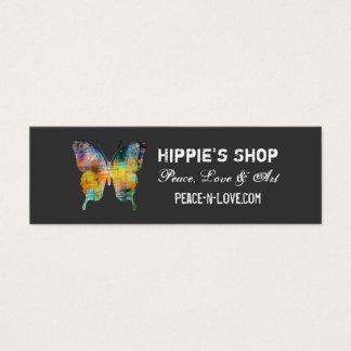 Mariposa apenada tarjeta de visita pequeña