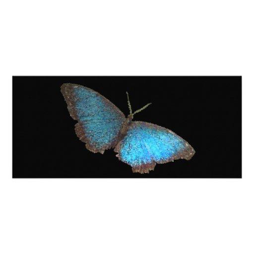 mariposa azul (imagen digital) plantillas de lonas