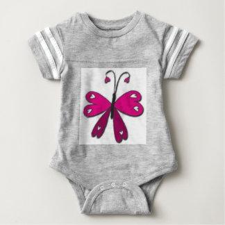 Mariposa básica body para bebé