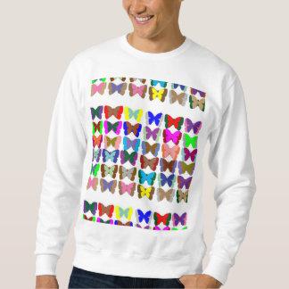 Mariposa básica de la camiseta de los hombres