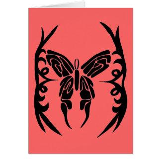 mariposa blanco y negro felicitaciones