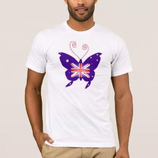 Mariposa británica de la diva camiseta
