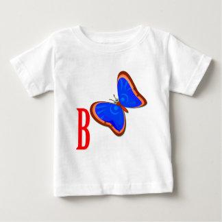 Mariposa colorida camisetas