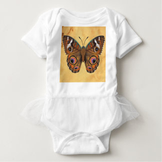 Mariposa común del castaño de Indias Body Para Bebé