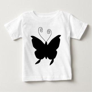 Mariposa de la diva camiseta para bebé