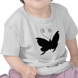 Mariposa de la diva camisetas