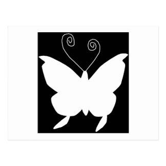 Mariposa de la diva postal