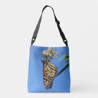 Mariposa de monarca bolso cruzado