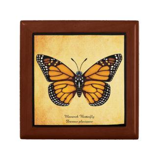 Mariposa de monarca joyero