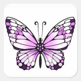 mariposa del pegatina