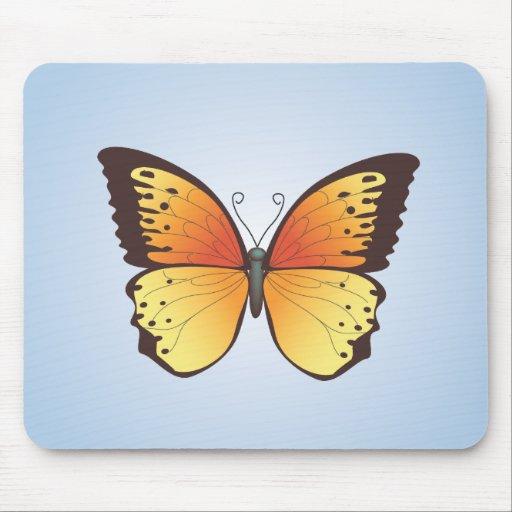 Mariposa: Ejemplo del vector: Mousepad Tapetes De Raton