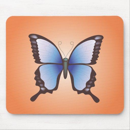 Mariposa: Ejemplo del vector: Mousepad Alfombrilla De Ratones